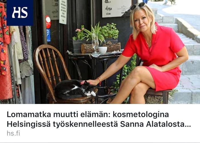 Suomalainen kiinteistönvälittäjä Alanya Turkki: Sanna Alatalo, Kleopatra Homes. Myytävät asunnot ulkomailla, asunto Alanyasta