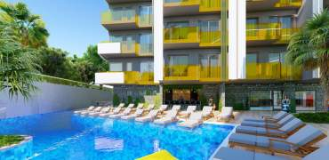 Garden apartments in Alanya – Alanya – 98m² – 169 000€
