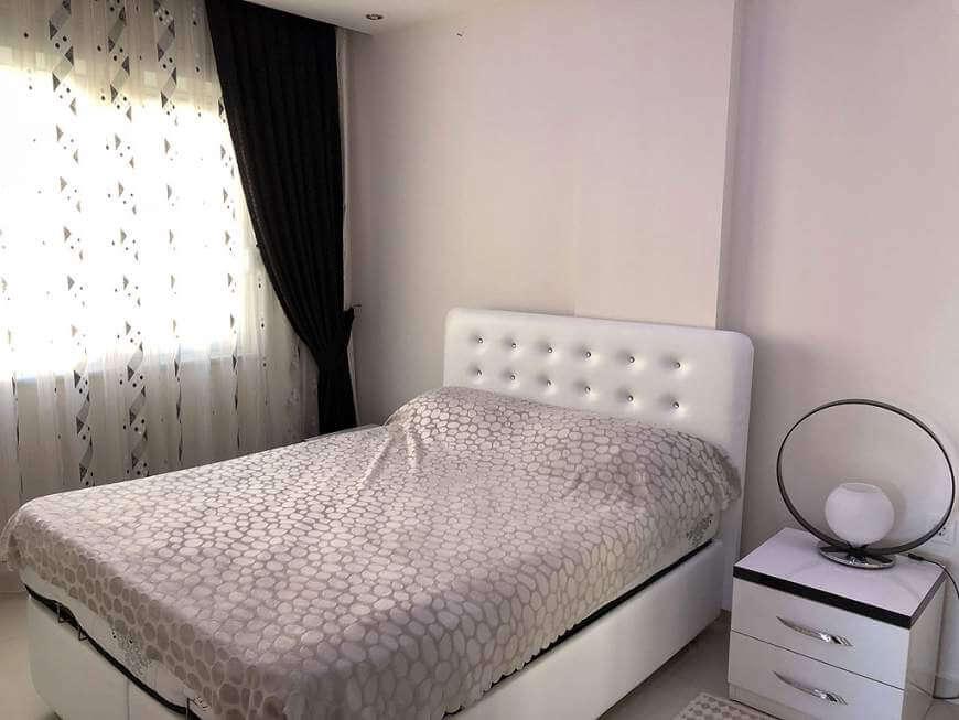 Kaunis makuuhuone: koti ulkomailta - asunto Turkista